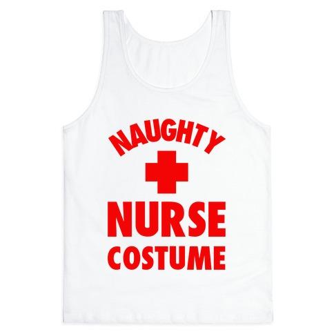 Naughty Nurse Costume Tank Top