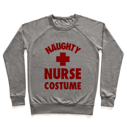 Naughty Nurse Costume Pullover