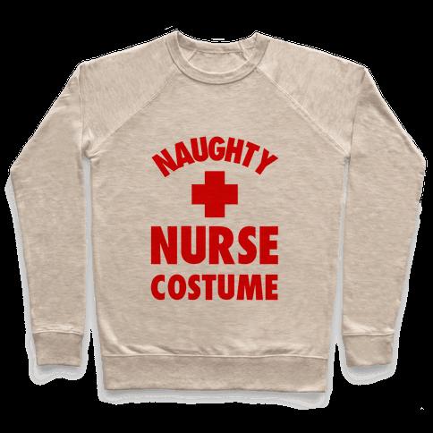 Naughty Nurse Costume Pullover