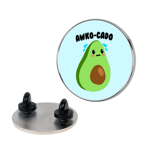 Awko-Cado Avocado Pin