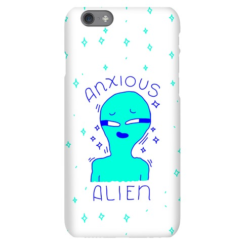 Anxious Alien Phone Case