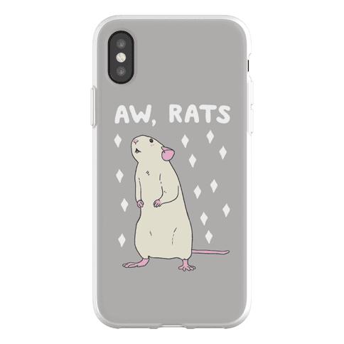 Aw, Rats Phone Flexi-Case