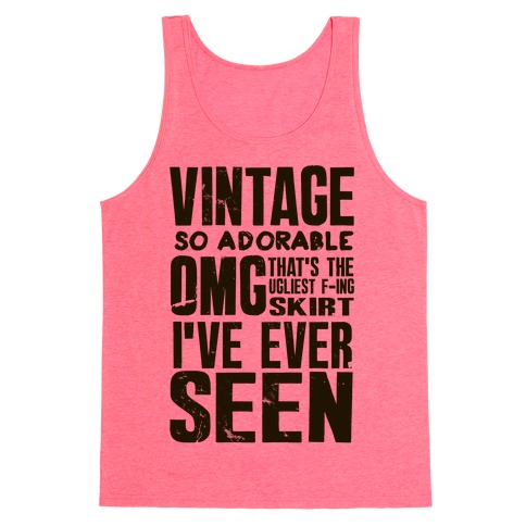 Vintage So Adorable Tank Top