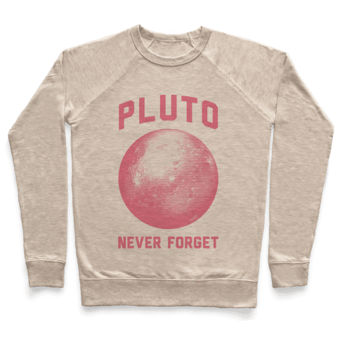 Pluto Never Forget Pullover