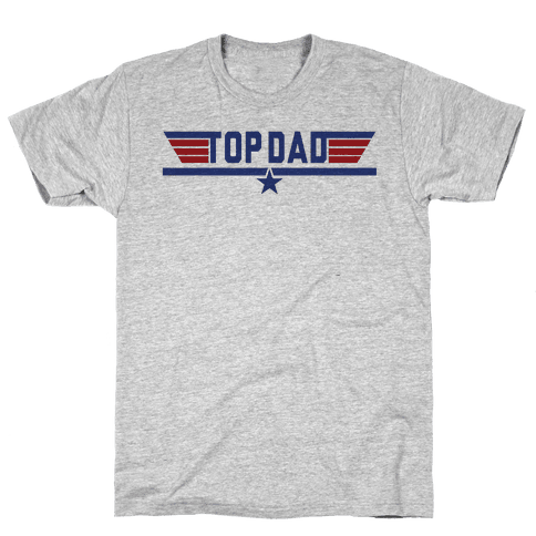 Top Dad Mens T-Shirt