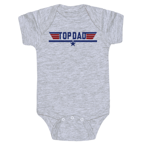 Top Dad Baby Onesy