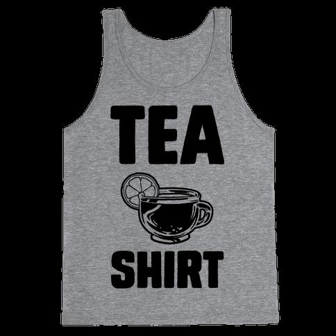 Tea Shirt Tank Top