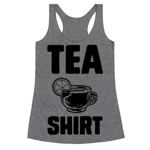 Tea Shirt Racerback Tank Top