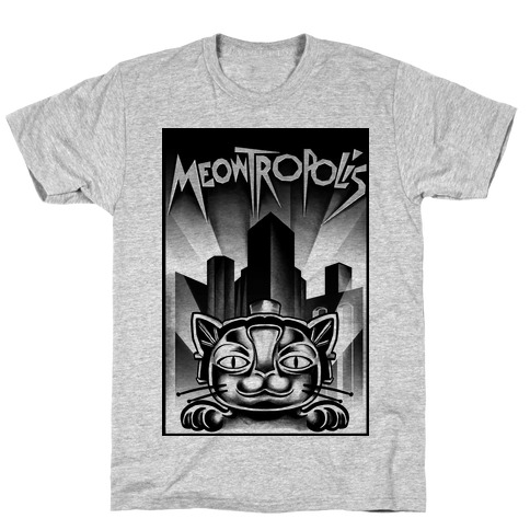 Meowtropolis (Metropolis Parody) T-Shirt
