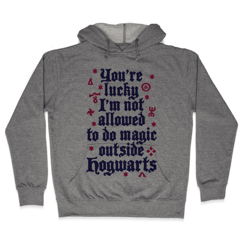 Outside Hogwarts Hooded Sweatshirt