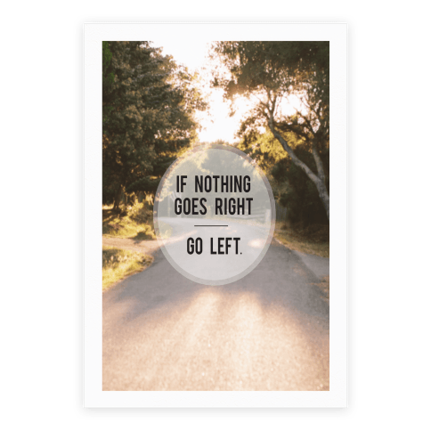 If Nothing Goes Right Poster