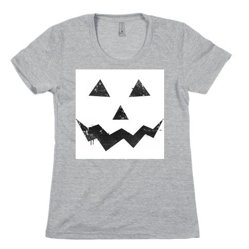 Jack Lantern Womens T-Shirt