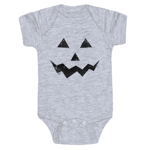 Jack Lantern Baby Onesy