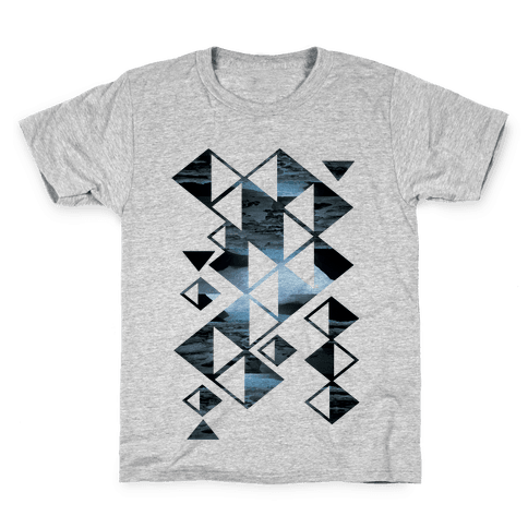 Glacier Collage Kids T-Shirt