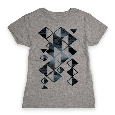 Glacier Collage Womens T-Shirt