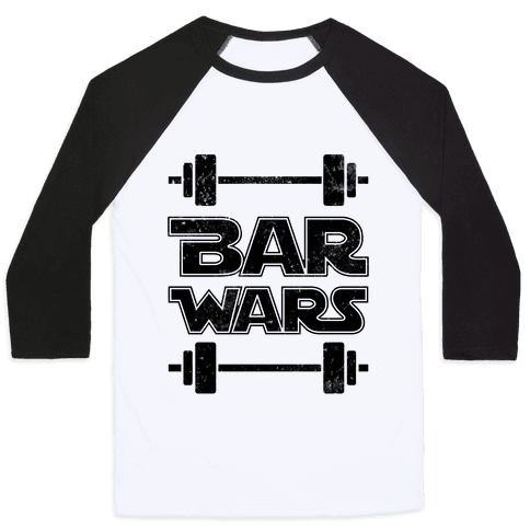 Bar Wars Baseball Tee