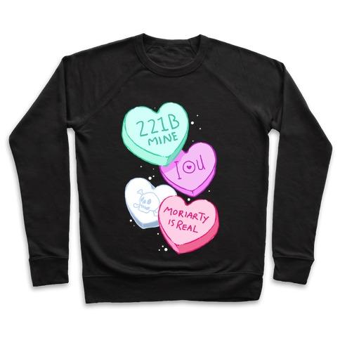 Sherlock Valentines Hearts Pullover