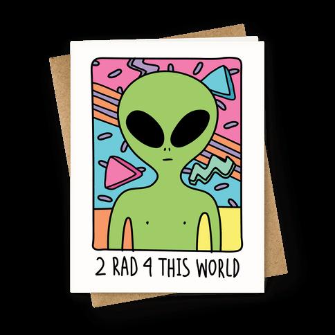 2 Rad 4 This World