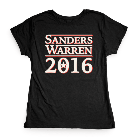 Sanders Warren 2016 Womens T-Shirt