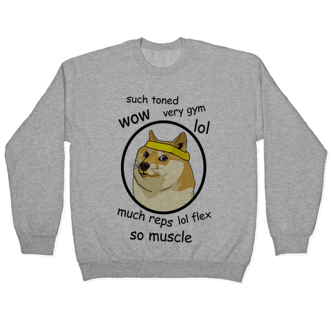 Fitness Doge Pullover