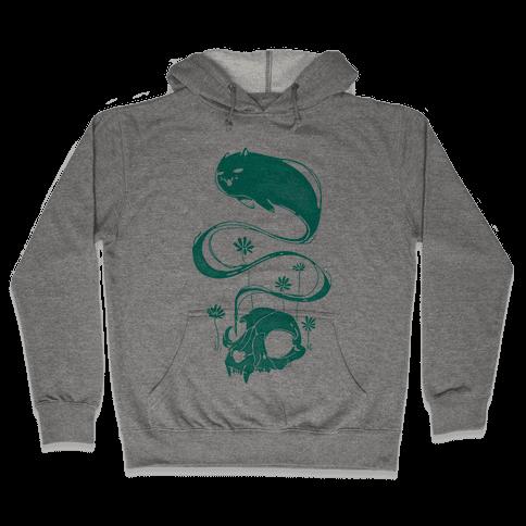 Cat Ghost Hooded Sweatshirt