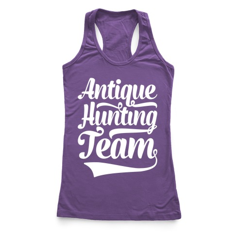 Antique Hunting Team Racerback Tank Top