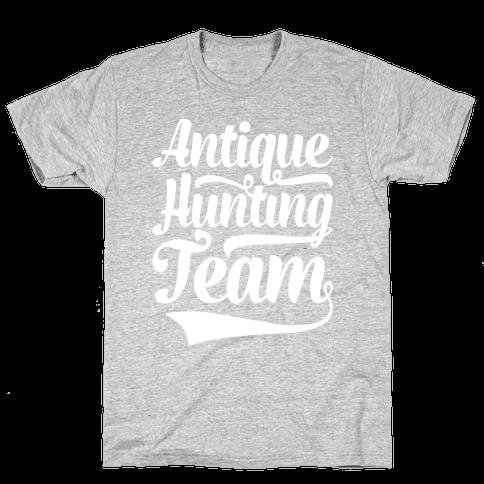 Antique Hunting Team Mens T-Shirt