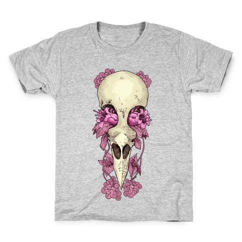Bird Skull Kids T-Shirt