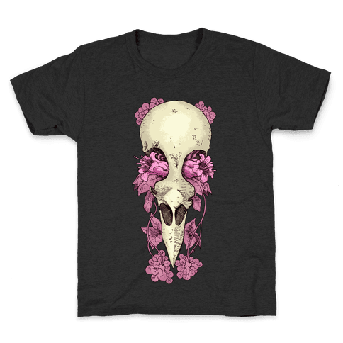 Bird Skull Kids T-Shirt