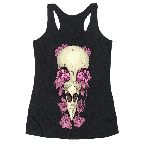 Bird Skull Racerback Tank Top