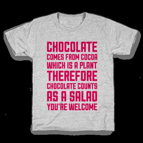 Chocolate Salad Kids T-Shirt