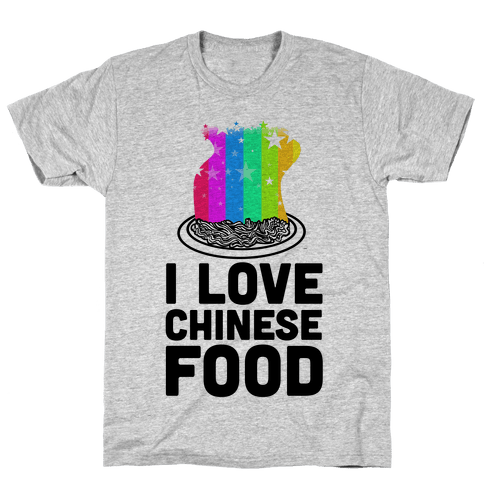 I Love Chinese Food Mens T-Shirt