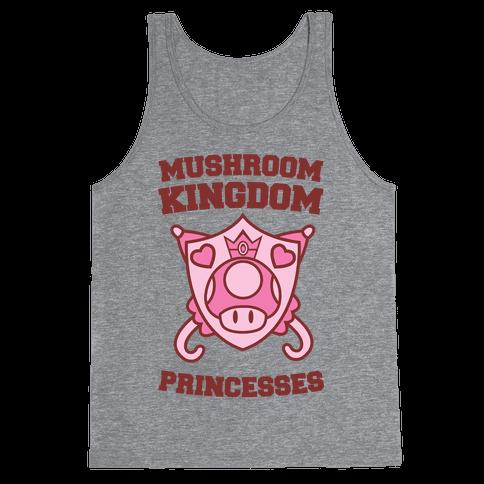 Team Mushroom Kingdom Princesses Tank Top