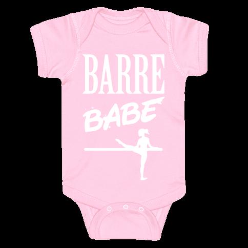 Barre Babe Baby Onesy