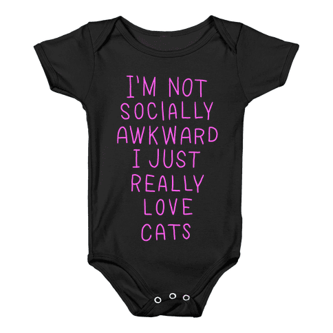 For The Love Of Cats Baby Onesy