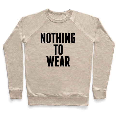 Nothing To Wear Pullover