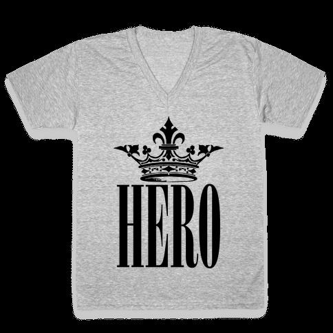 Hero V-Neck Tee Shirt