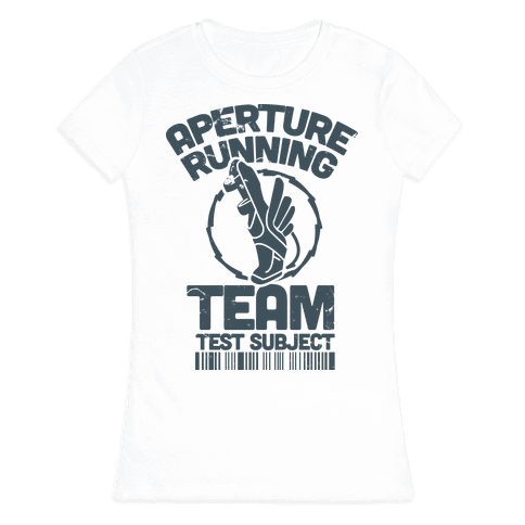 Aperture Running Team  Womens T-Shirt