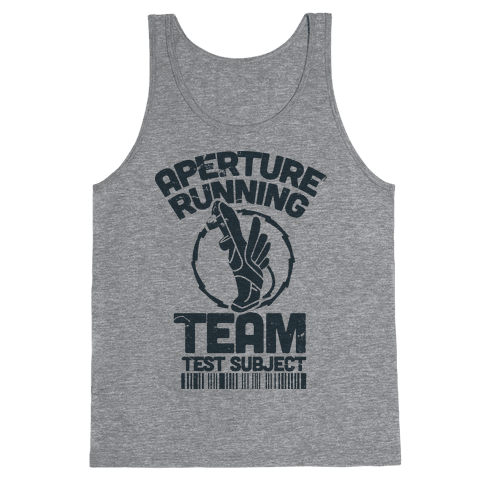 Aperture Running Team  Tank Top