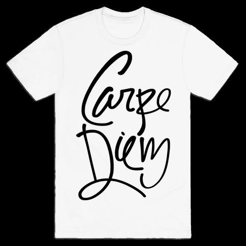 Carpe Diem Mens T-Shirt
