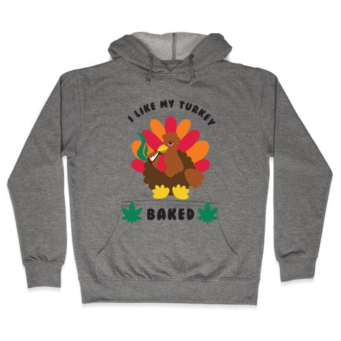 Baked Turkey Hooded Sweatshirt