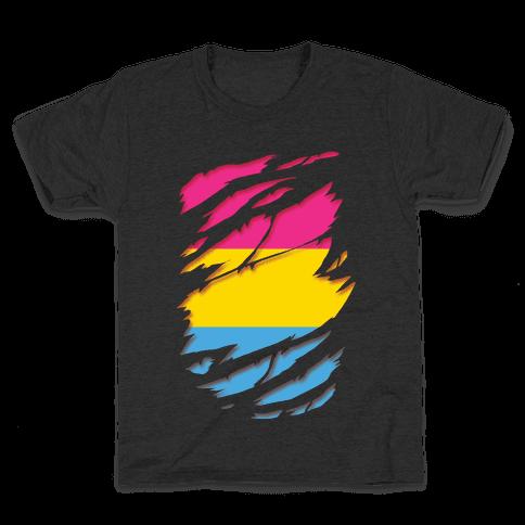 Ripped Shirt: Pan Pride Kids T-Shirt