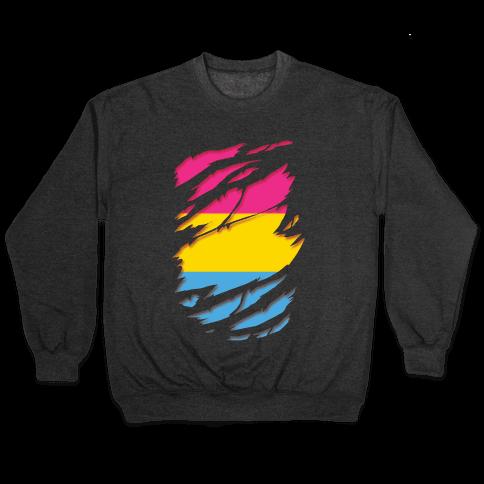 Ripped Shirt: Pan Pride Pullover
