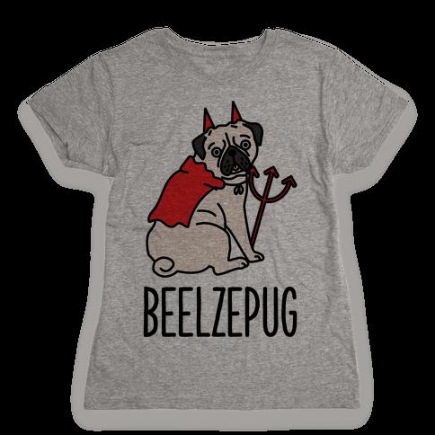 Beelzepug Womens T-Shirt