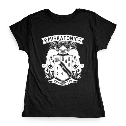 Miskatonic University Womens T-Shirt