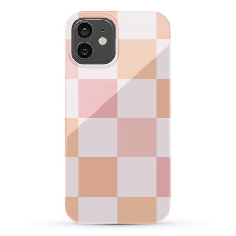 Checkered Case (Warm) Phone Case
