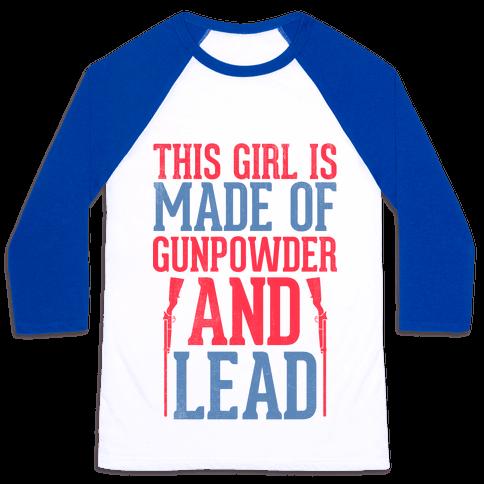 Gunpowder & Lead (Baseball Tee) Baseball Tee