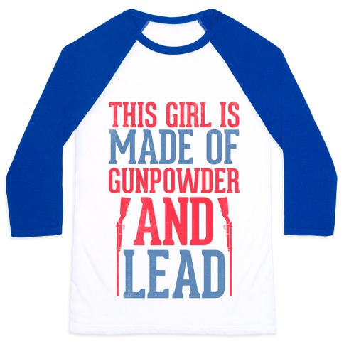 Gunpowder & Lead (Baseball Tee) Baseball Tee