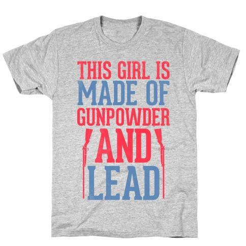 Gunpowder & Lead (Baseball Tee) T-Shirt