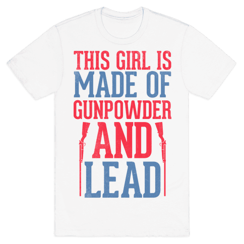 Gunpowder & Lead (Baseball Tee) Mens T-Shirt